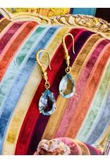 SENNOD Blue Topaz Earrings