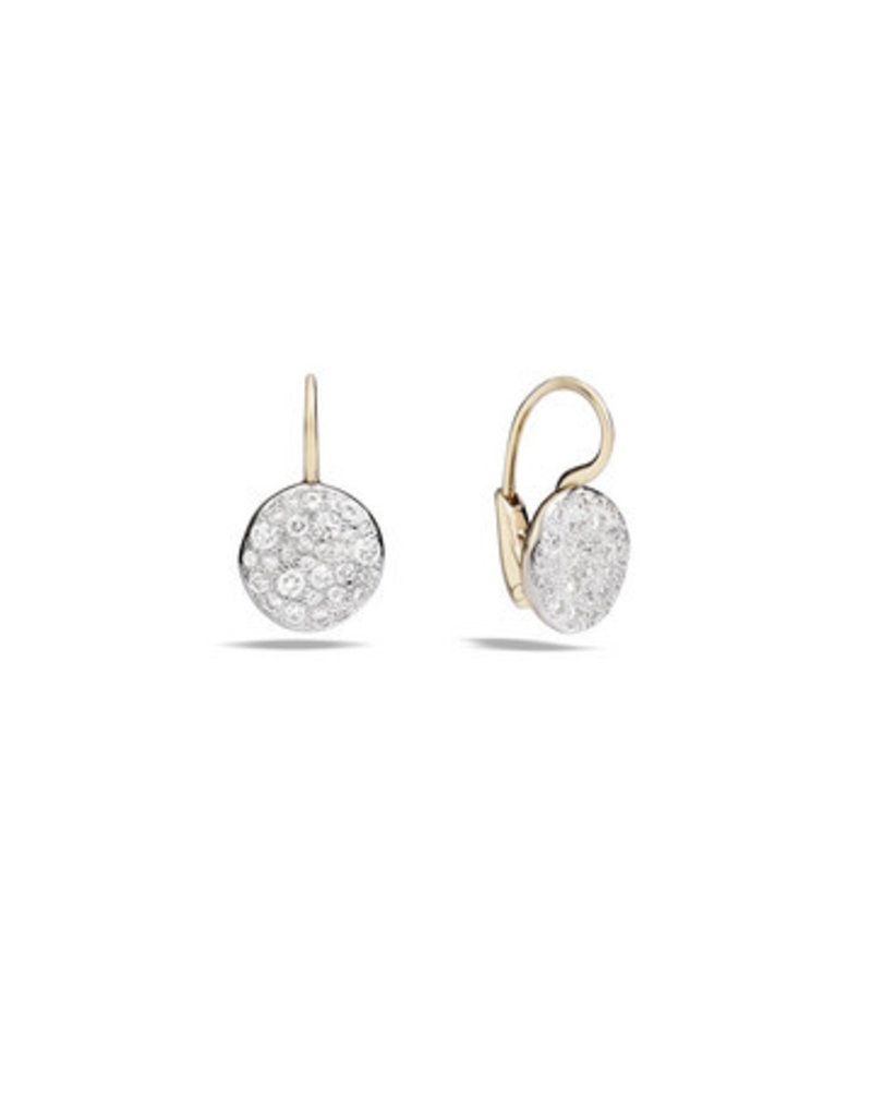 POMELLATO White Diamond Sabbia Earrings