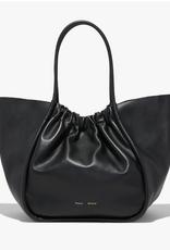 PROENZA SCHOULER XL Ruched Tote - Smooth Calf Black