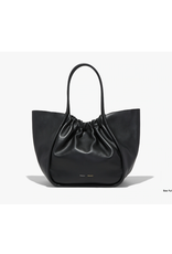 PROENZA SCHOULER XL Ruched Tote - Smooth Calf Black
