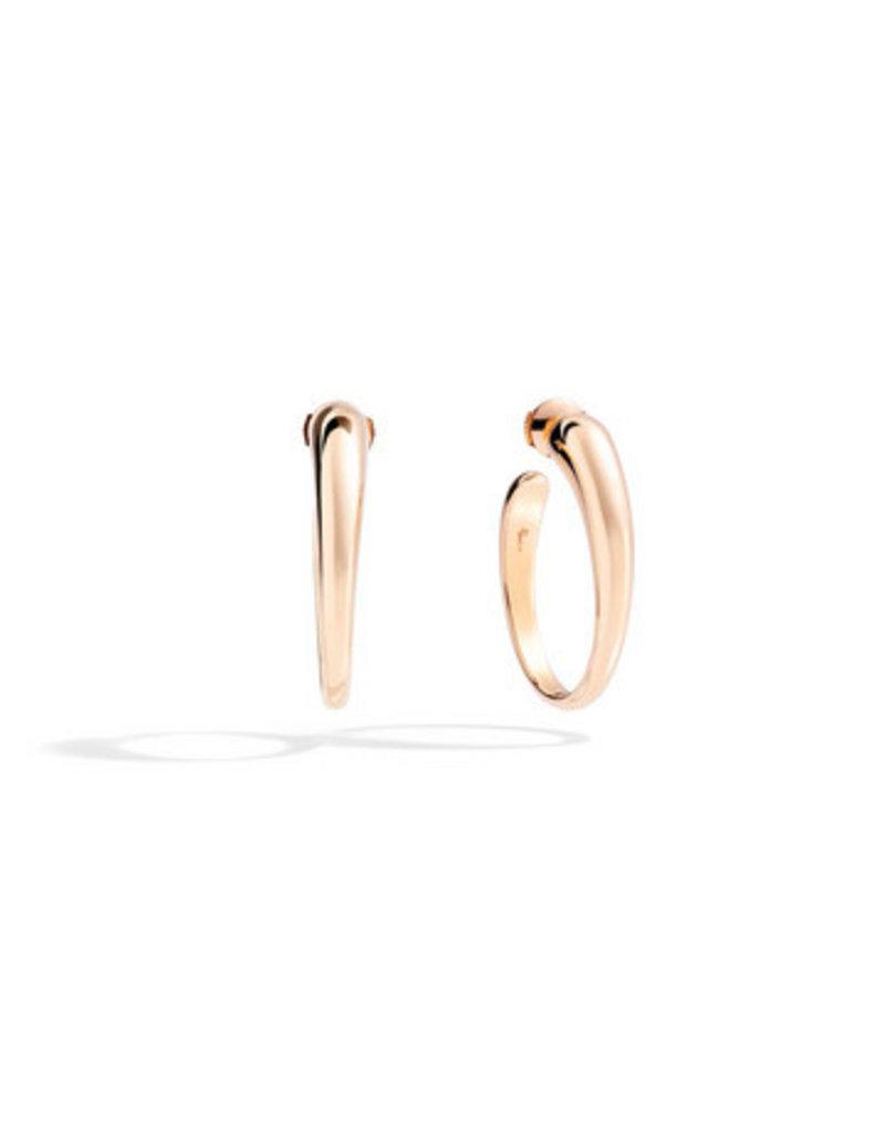 POMELLATO Tango Rose Gold Earrings