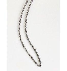 """ERICA MOLINARI SS Oxidized 23"""" Chain"""