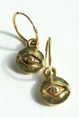BREVARD 18K Tiny Horus Earrings