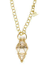 TEMPLE ST CLAIR Diamond Anfora Amulet