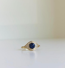 LAUREN FINE JEWELRY Evil Eye Ring