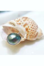 JAMIE JOSEPH Tahitian Pearl Ring with Diamond