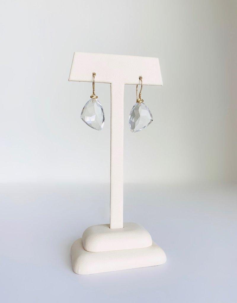 JAMIE JOSEPH Rock Crystal Earrings