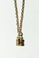 "SENNOD Link Vignette Chain - Gold 18"""