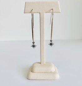SENNOD Comet Earrings - Sterling