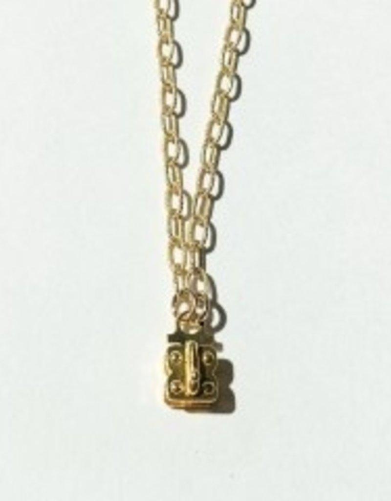 """SENNOD Matte Vignette Chain - Gold 24"""""""