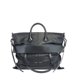 PROENZA SCHOULER PS19 Large - Grainy Leather Black