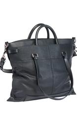 PROENZA SCHOULER PS19 Large - Grainy Leather Black