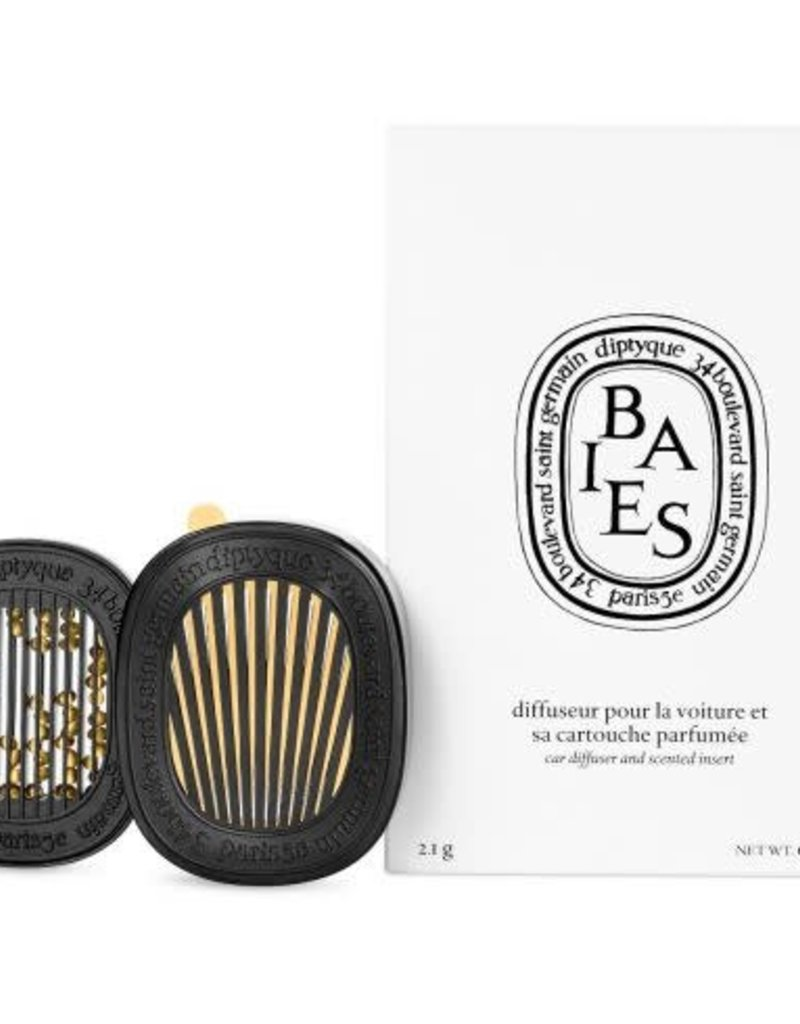 DIPTYQUE Car Diffuser Set with Baies