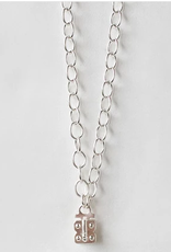 SENNOD Flat Cable Vignette Chain - Sterling 20""