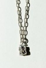 """SENNOD Matte Vignette Chain - Sterling 24"""""""