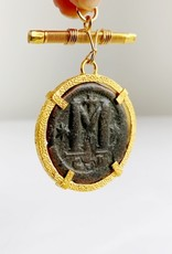 "SENNOD Roman ""M"" Coin Vignette"