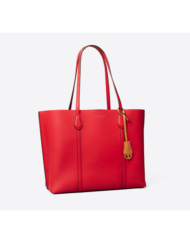 TORY BURCH Perry Tote - Brilliant Red