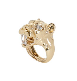 ALEXIS BITTAR Panther Head Ring