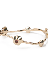 ALEXIS BITTAR Soft Octagon Bangle - Gold