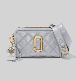 MARC JACOBS The Quilted Softshot 21 - Dark Grey