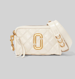 MARC JACOBS The Quilted Softshot 21 - Ivory