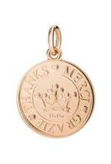 DODO Rose Gold Coin Charm