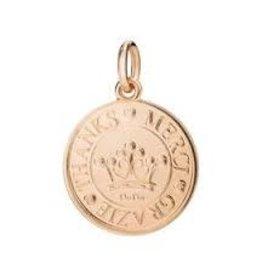 DODO Rose Gold Coin Charm