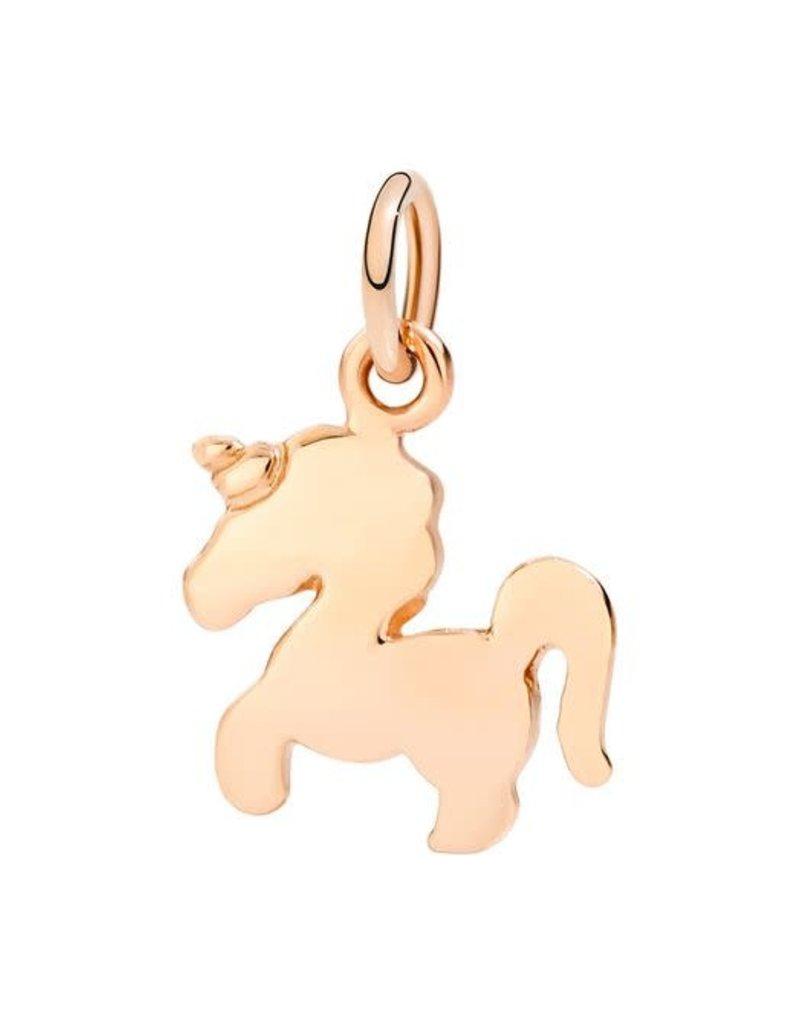 DODO Rose Gold Unicorn Charm