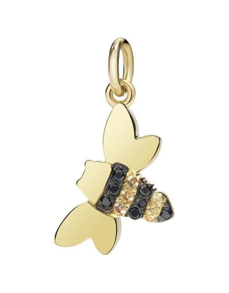 DODO Black Diamond Bee w/ Yellow Sapphires