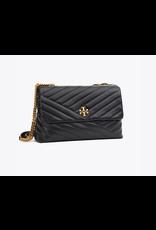 TORY BURCH Kira Chevron Convertible Shoulder Bag - Black