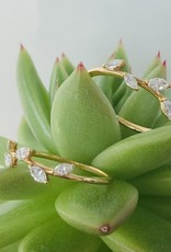 302 COLLECTION Diamond Leaf Ring