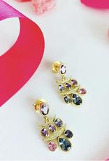 TEMPLE ST CLAIR Seta Fringe Earrings