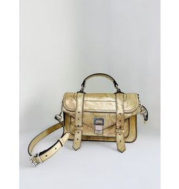 PROENZA SCHOULER PS1 Tiny - Spatolato Leather (Spatolato Gold)
