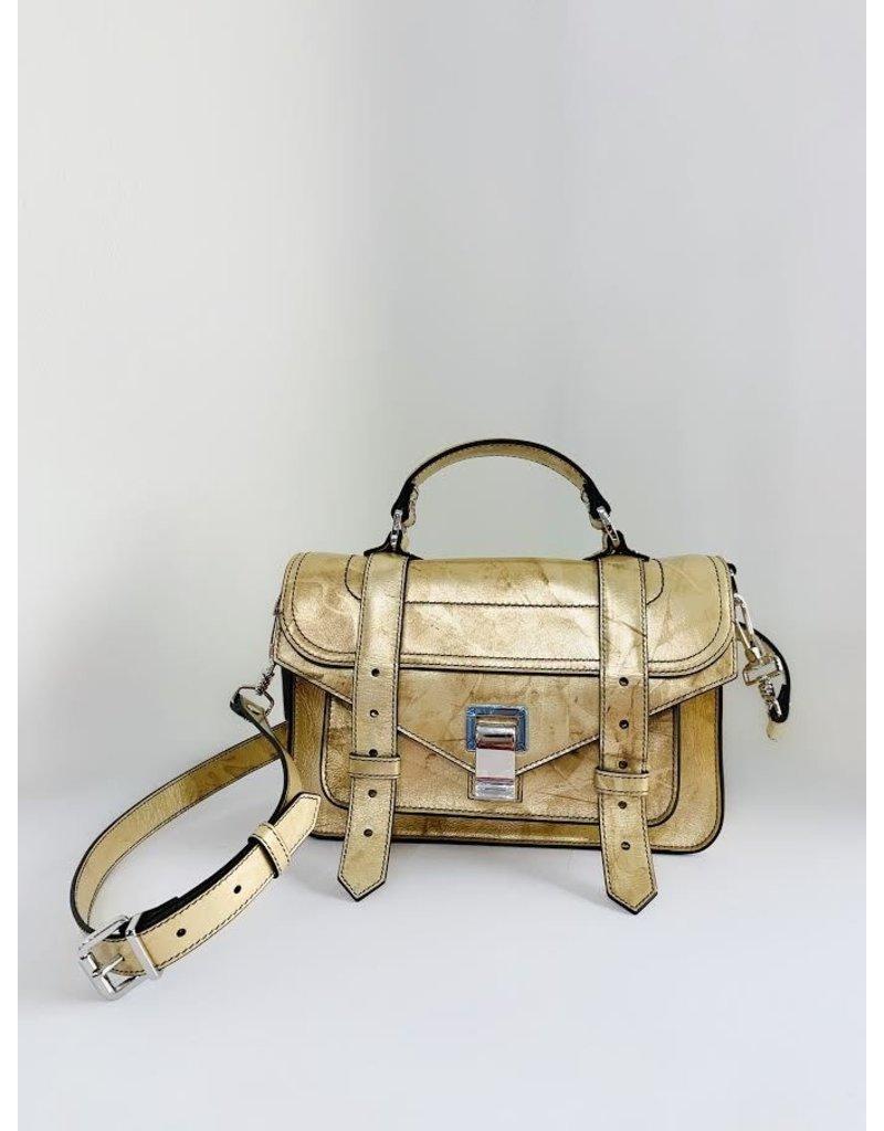 PROENZA SCHOULER PS1 Tiny - Spatolato Leather (Spatolato Gold)