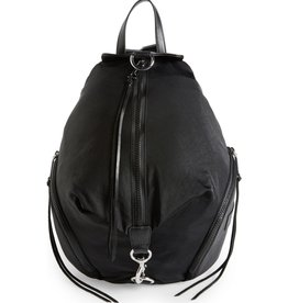 REBECCA MINKOFF Julian Nylon Backpack - Black