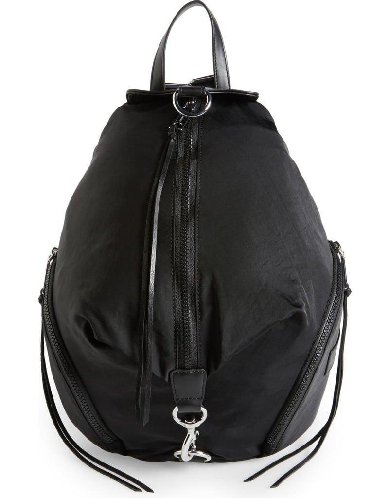 REBECCA MINKOFF Julian Nylon Backpack - Black