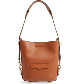 REBECCA MINKOFF Small Utility Convertible Bucket Bag - Equestrian