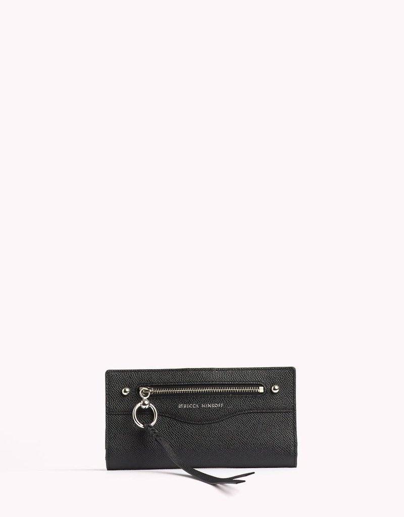 REBECCA MINKOFF Gabby Snap Wallet - Black