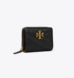 TORY BURCH Kira Chevron Bi-Fold Wallet - Black