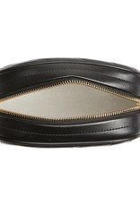 TORY BURCH Kira Chevron Small Camera Bag - Black