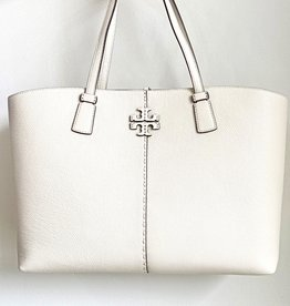 TORY BURCH McGraw Tote - New Ivory