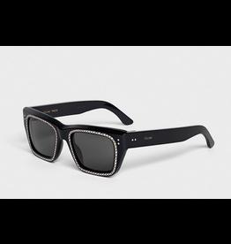 CELINE 4082IS - Black with Crystal Studs
