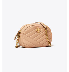 TORY BURCH Kira Chevron Small Camera Bag - Devon Sand