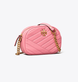 TORY BURCH Kira Chevron Small Camera Bag - Pink City