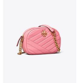 TORY BURCH Kira Chevron Small Camera Bag - Pink City