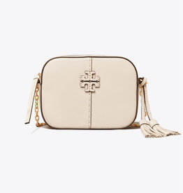 TORY BURCH McGraw Camera Bag - New Ivory