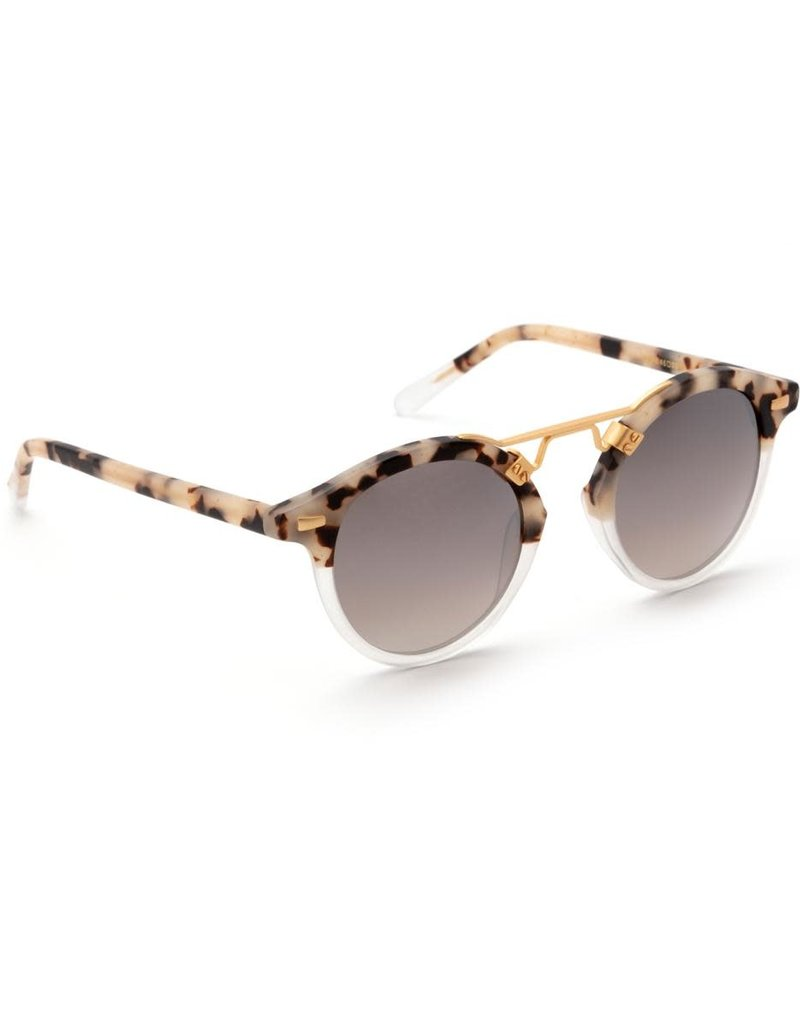 KREWE St. Louis - Matte Oyster to Crystal Mirror Polarized