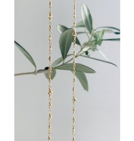 MIZUKI Wrapped Mixed Bead Necklace