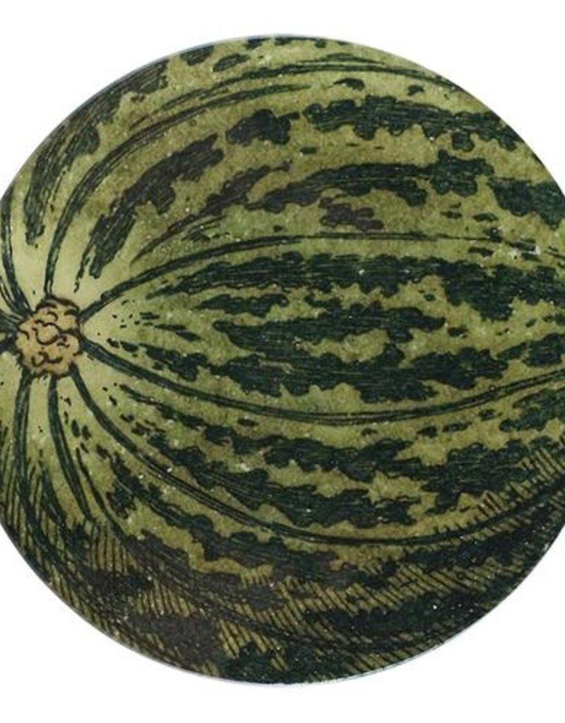 JOHN DERIAN Pear Melon Round Plate