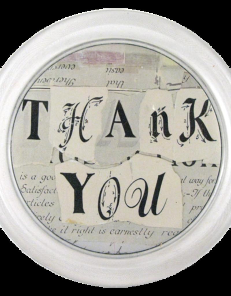 JOHN DERIAN Thank You Coaster